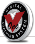 v1 golf logo - click link
